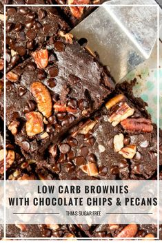 Low Carb Brownies (THM-S, Gluten Free, Sugar Free) #trimhealthymama #thm #thms #lowcarb #keto #brownies #sugarfree #dairyfree #glutenfree #mymontanakitchen