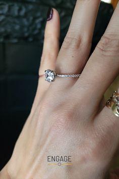 #engagementring #diamondring #diamond #accentdiamonds #ringsetting #ringdesign #bridaljewelry #weddingjewelry #proposalplanning #engagementinspiration #marriageproposal #weddingplanning #jewelry #whitegoldrings Engagement Ring Settings, Diamond Engagement Rings, Engagement Inspiration, Marriage Proposals, White Gold Rings, Ring Designs, Wedding Jewelry, Wedding Planning, Jewels