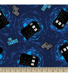 Doctor Who Time Lord Fleece Fabric | Find Dr. Who fabric from Joann.com