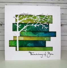 CAS301 The Thinking Tree by susie australia - Cards and Paper Crafts at Splitcoaststampers