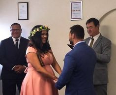 We loved performing this wedding for Azra and Christopher Tieste at our Adelaide CBD location just the other day. Congratulations to you both!   If youd like a Simple Wedding just call. 1300 668 459 or book online anytime at http://bit.ly/1RNpOLA