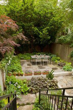 """Sneak Peek: A Hidden Garden in the Middle of Brooklyn. """"My tiny urban oasis."""" #sneakpeek"""