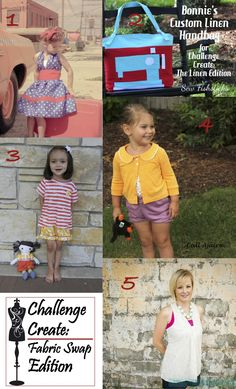 Which of the final 5 from #ChallengeCreate Fabric Swap Edition was your favorite?