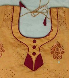 Chudithar Neck Designs, Neck Designs For Suits, Neckline Designs, Sleeves Designs For Dresses, Blouse Neck Designs, Salwar Neck Patterns, Salwar Suit Neck Designs, Kurta Neck Design, Simple Blouse Designs