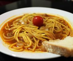 Kinesisk nudelsuppe opskrift Asian Recipes, Ethnic Recipes, Supper, Spaghetti, Food, Essen, Meals, Yemek, Noodle