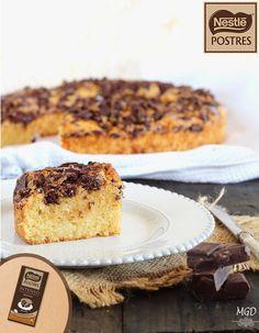 Bizcocho rústico de chocolate intenso con canela y café. Blog: Mi gran diversión