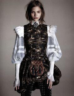 Sasha Luss By Luigi And Daniele + Iango For Vogue Japan |       View Post