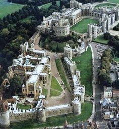 Windsor Castle - the world's largest and oldest occupied royal residence.