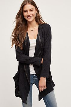 Melita Draped Jacket - anthropologie.com