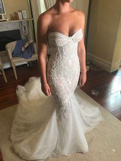 abe0670d8c3d3 Leah Da Gloria Custom Made Wedding Dress