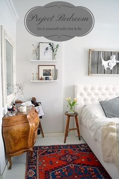 Love this space, great rug.