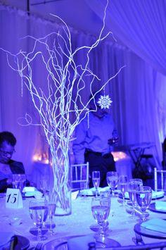 Winter Wonderland themed decor