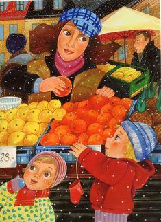 Na Zelném trhu Chula, Illustrators, Disney Characters, Fictional Characters, Disney Princess, Illustration Children, Children Books, Painting, Art