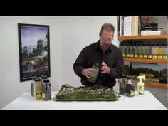 This video walks you through using the various products in the Woodland Scenics Landscape System. Right before your eyes, Matt models a realistically landscaped scene in real time beginning with a diorama of barren terrain. He demonstrates how to use ten different Woodland Scenics products in varying colors and textures to model the variety of plant life we see every day in nature.