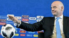 Infantino evita hablar sobre el dopaje en Rusia y defiende los controles de la FIFA