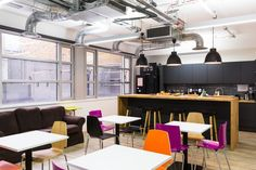 Nexmo Offices – London, UK  tech services company Nexmo located in London.
