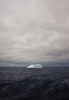 The dignity of movement of an iceberg is due to only one-eighth of it being above water.