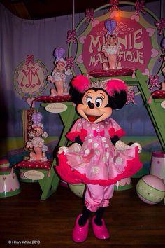 Minnie Mouse at Storybook Circus Walt Disney World Magic Kingdom