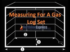 Measuring Your Fireplace For The Installation Of A Gas Log Set - YouTube