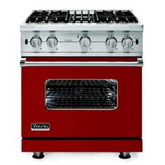For a stylish cook, the Viking VDSC530-4B-AR range comes in 24 vivid colors.