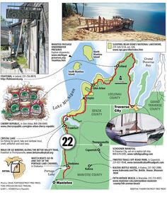 You haven't lived in Michigan until: You take a summer drive along M-22   Michigan news   Detroit Free Press   freep.com