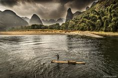 Boat trip on the Li River by Domingo Leiva on 500px