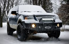 Ford Expedition 2003-2006 Wincher bumper from Tactical Armor Group