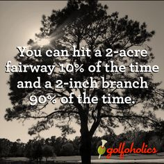 Golf thought! #lorisgolfshoppe Repinned by lorisgolfshoppe.com