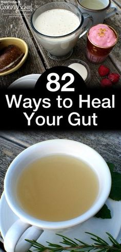 82 Ways to Heal Your Gut Did you know that the function of your immune system, the state of your mental health, the pain or lack thereof in your joints, and even whether or not you have seasonal allergies can all be determined by one thing? Gut Health, Health And Wellness, Health Fitness, Mental Health, Tongue Health, Public Health, Natural Cures, Natural Healing, Herbal Remedies