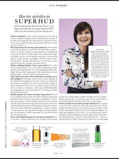 August 2015 - ELLE Magazine omtaler Danish Skin Cares, Smooth Skin Treatment :-D