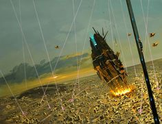 "Philippe Bouchet ""Manchu"" (b. Space Fantasy, Sci Fi Fantasy, Concept Ships, Concept Art, Art Science Fiction, Sci Fi Genre, Banks, 70s Sci Fi Art, Spaceship Art"