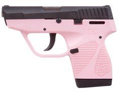 "Taurus International Manufacturing Inc 3.3"" Black Stainless Steel Pink Polymer Frame 6rd +1 $352"