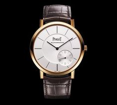 Piaget Altiplano: the thinnest automatic watch in the world