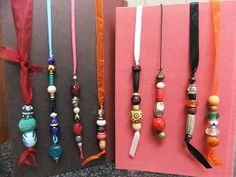 Beaded Bookmarks and Trinkets