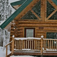 Alaskan Home...I've been watching too much Buying Alaska shows! I would move there if I thought I could survive the cold!