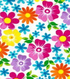Flannel Fabric-Floral