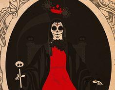 "Check out new work on my @Behance portfolio: ""Ilustración Santa Muerte"" http://be.net/gallery/44611207/Ilustracion-Santa-Muerte"