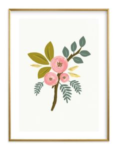 """""""Botanical - Graphic Limited Edition Art Print by Karidy Walker. Floral Illustrations, Botanical Illustration, Illustration Art, Guache, Gardening Supplies, Motif Floral, Custom Art, Seed Packets, Wall Art Prints"""