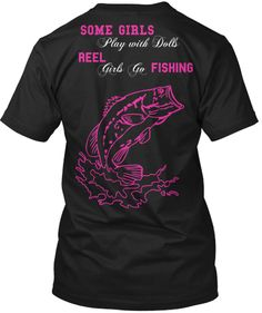 Black and pink girls go fishing