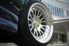 """Breyton BMW E30 Cabrio + CCW Classic/4 16"""" by STM Alliance, via Flickr"""