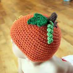 @Abbie Hix -so cute!  Lil'Pumpkin Patch Hat Crochet Pattern by Easymakesmehappy, via Flickr