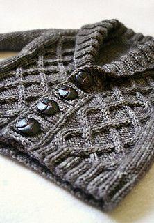 Baby Knitting Patterns Gramps Cardigan pattern by Kate Oates Knitting For Kids, Baby Knitting Patterns, Baby Patterns, Knitting Projects, Crochet Projects, Crochet Patterns, Cardigan Bebe, Cardigan Pattern, Baby Cardigan