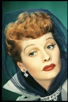 Lucille Ball even more stunning in color