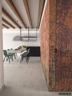 Archilab - návrh interiéru rodinného domu, Záhorská Bystrica