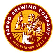 Fargo Brewing Company: From a garage to a full fledged brewery in five short years sums up a dream come true for us Fargo natives with our heart set on bringing craft brewing to the heartland. Beer Company, Brewing Company, Company Logo, Brewery Logos, Local Brewery, Circle Logo Design, Circle Logos, Graphic Design, Starting A Brewery