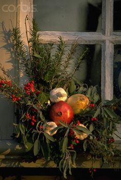 Christmas Decorations in Colonial Williamsburg