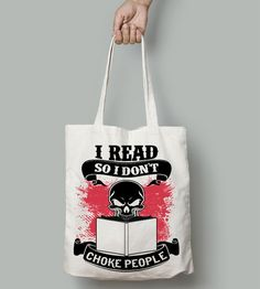 I Read So I Don't... - For reading addicts - Totes - 1