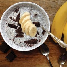 Peanut Butter Chocolate Chia Seed Pudding