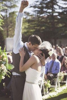 Most Creative Wedding Kiss Photos ❤ See more: http://www.weddingforward.com/creative-wedding-kiss-photos/ #weddings