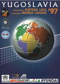 1997 World League Intercontinental Round poster.